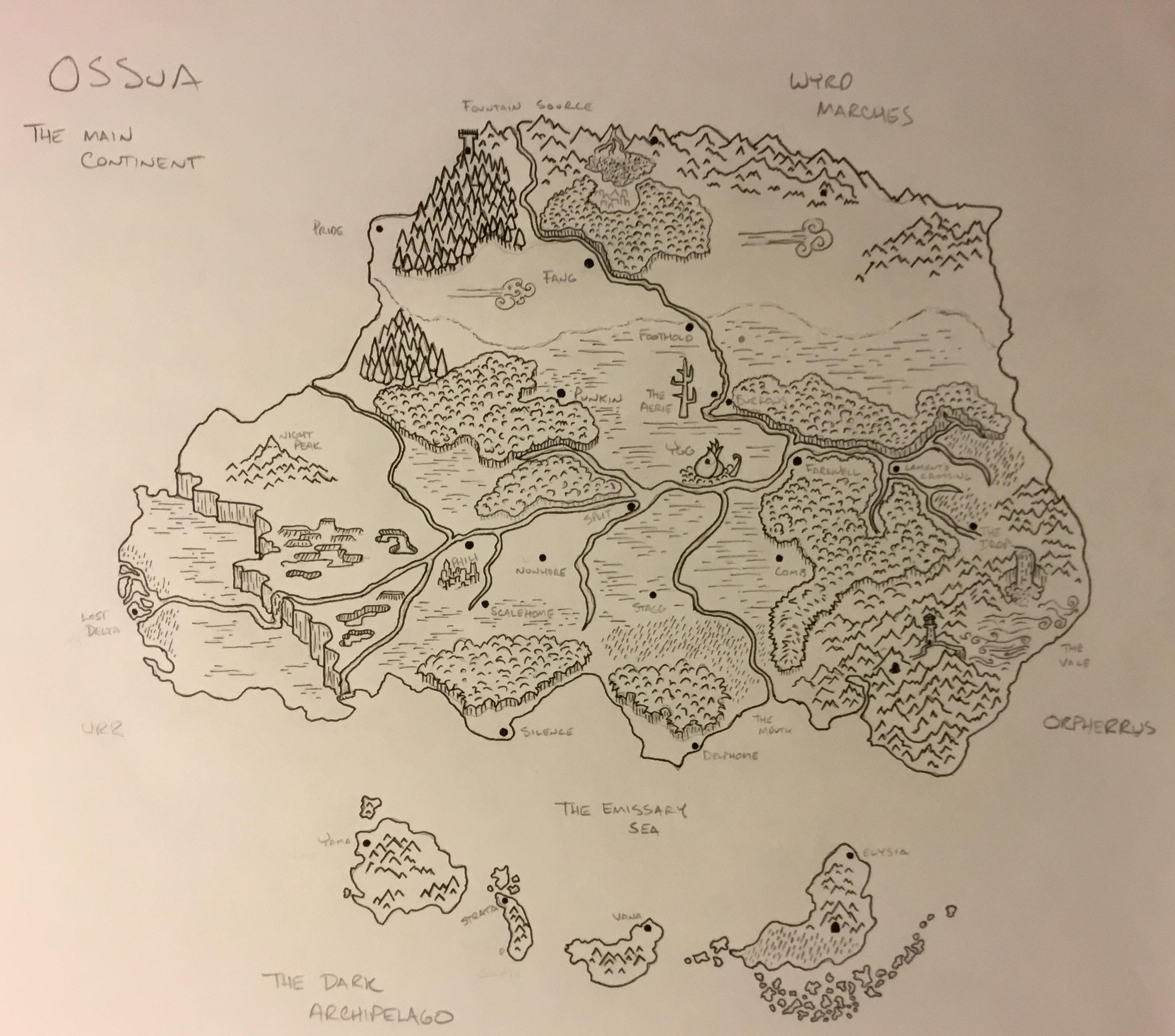 Ossua Map